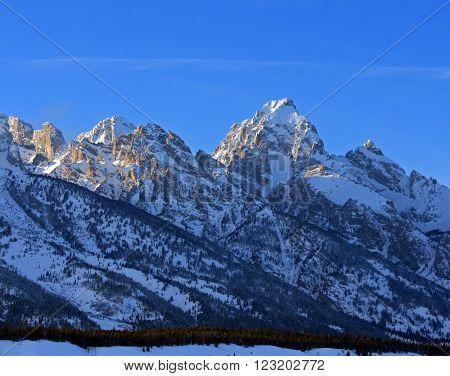 Buck Mountain - Grand Tetons National Park