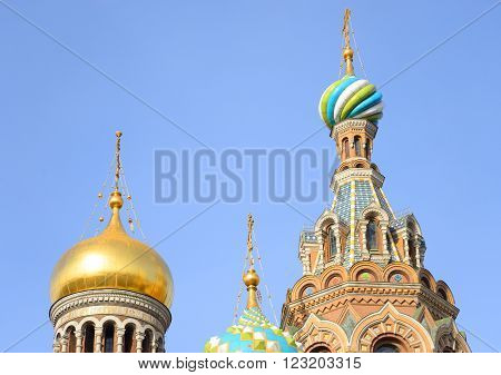 Savior on Spilled Blood Cathedral ( Spas na Krovi ) in St.Petersburg Russia.