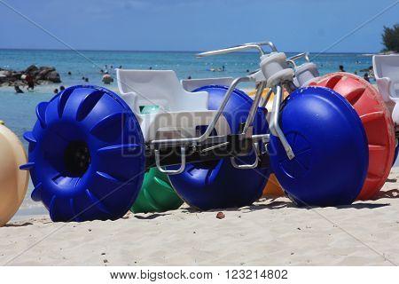 Water sport at Bahamas beach Princess Cays