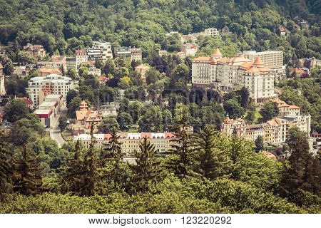 street view in Karlovy Vary hotels in Karlovy Vary Carlsbad Czech Republic Europe ** Note: Soft Focus at 100%, best at smaller sizes