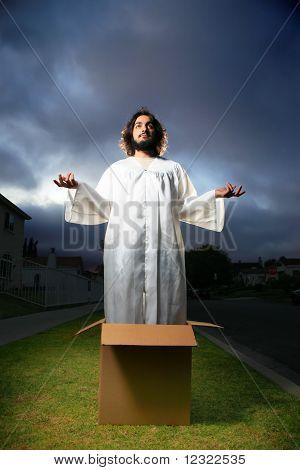 Jesus in the box