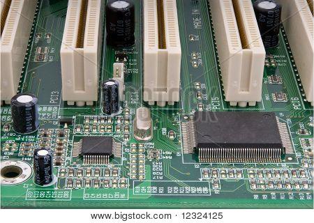 Partial Computer Mainboard