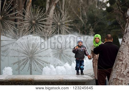 BAKU, AZERBAIJAN - DECEMBER 31 2013 