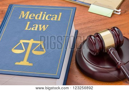 A Law Book With A Gavel - Medical Law
