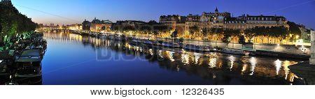 Paris Seine riverside