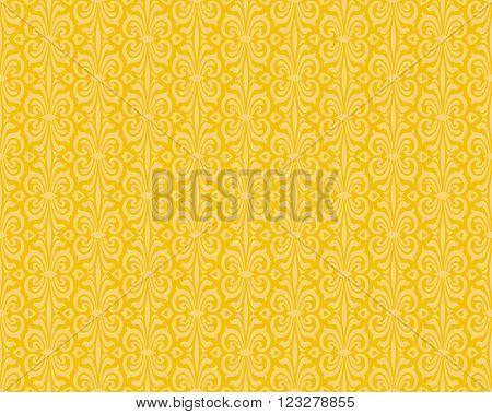 Yellow orange colorful retro background design pattern