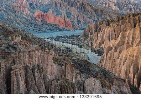 Mountains of Altiplano Bolivia South America, Travel destination