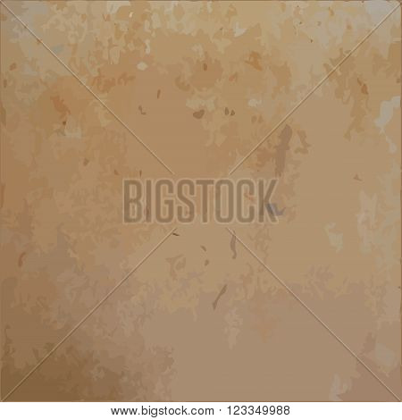 Rusty brown scratched metal sheet vector texture