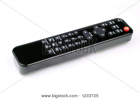 remote control for tv or audio equipments. poster
