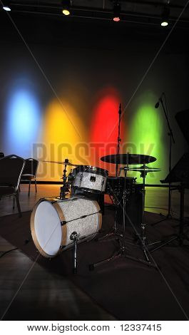 Drum At Stage
