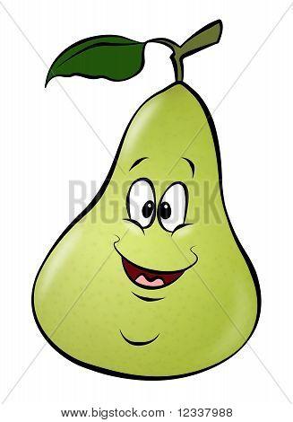Cartoon Pear