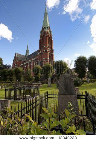 Stockholm: Cemetery of the Saint Johannes Church