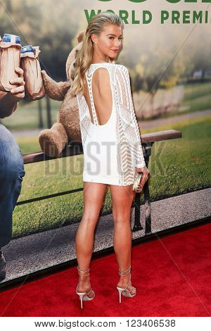 NEW YORK-JUN 24: Lexi Atkins attends the 'Ted 2' world premiere at the Ziegfeld Theatre on June 24, 2015 in New York City.