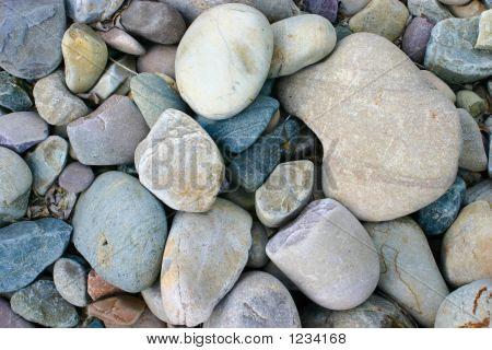Background River Rocks