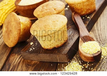 Muffins With Corn  Flour