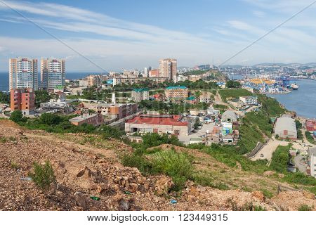 View of Vladivostok, Primorsky Krai,  Russian Federation