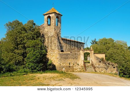 Sant Marti Church In Besalu, Spain