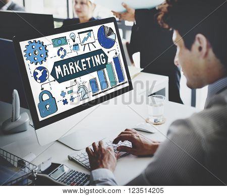 Marketing Plan Advertising Commercial Concept