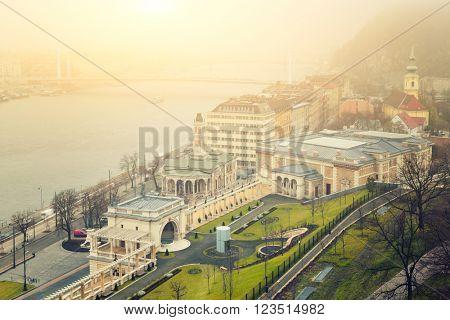 Budapest Winter Mist, Hungary