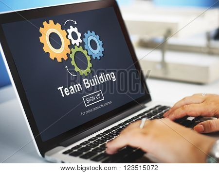 Team Building Collaboration Development Concept