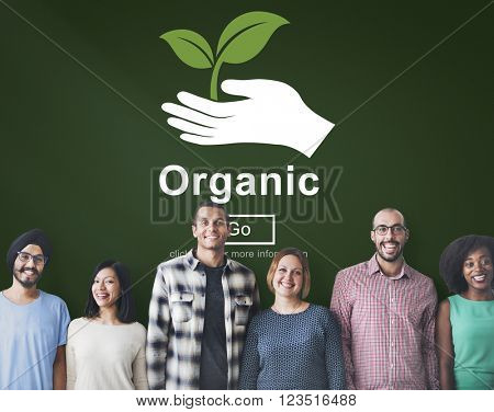 Organic Food Healthy Lifestyle Freshness Natural Agriculture Concept
