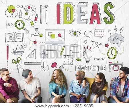 Ideas Process Thinking Creative Word Concept