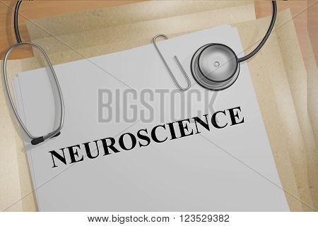 Neuroscience Medical Concept