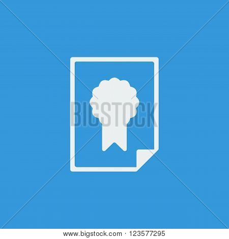 Charter Icon In Vector Format. Premium Quality Charter Icon. Web Graphic Charter Icon Sign On Blue B