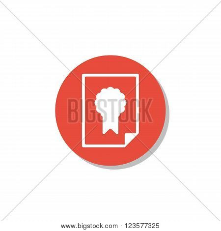 Charter Icon In Vector Format. Premium Quality Charter Icon. Web Graphic Charter Icon Sign On Red Ci