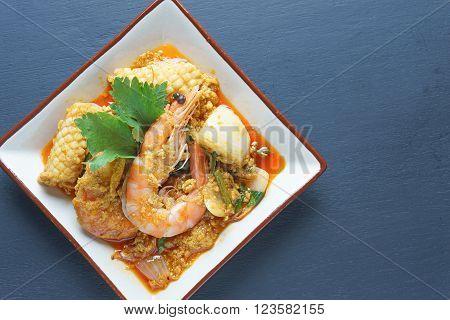 Tom Yum Goong thai food,popular thai food