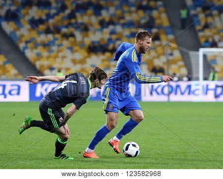 Friendly Match Ukraine Vs Wales In Kyiv, Ukraine