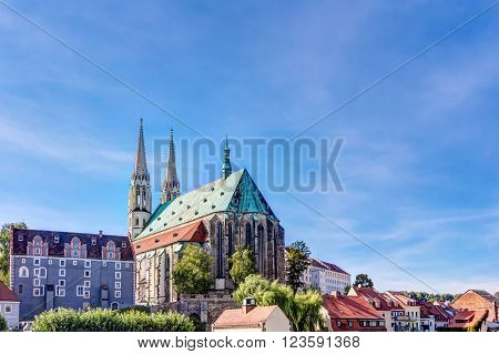 St. Peter and Pauls church in the old town of Gorlitz