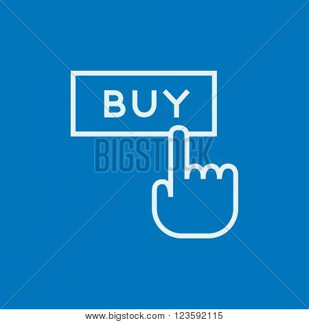 Buy button line icon.