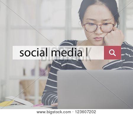 Social Media Connection Communication Technology Concept