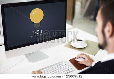 Ideas Imagination Lightbulb Design Energy Concept