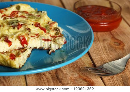 Omelet With Pepper