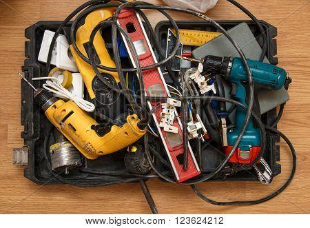 Tool Box Of Carpenter