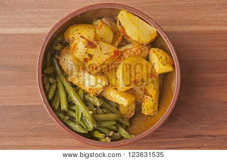 It is image of delicious vegan food.