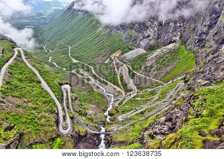Troll Road, Norway