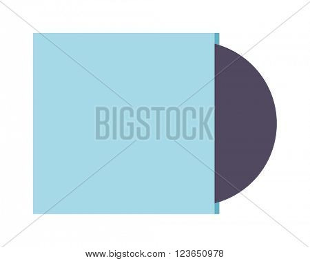 CD icon vector illustration  isolated on white background