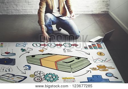 Financial Transaction Banking Planning Risk Assesment Concept