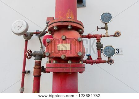 Supervisory valve for fire protection system,Fire proof system.