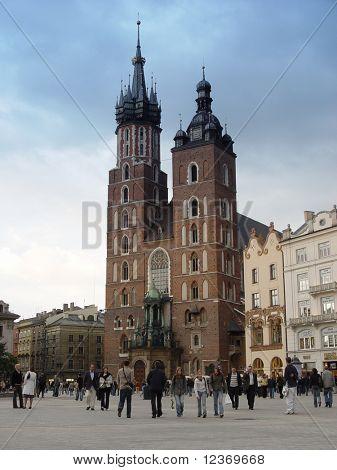 Mariacki Church. Krakow - Poland
