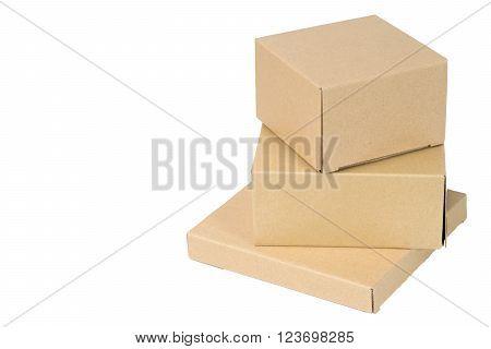 Brown Corrugated Paper Box