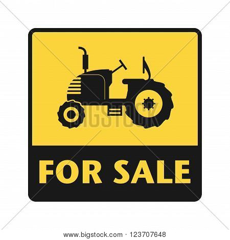 For Sale icon or sign, vector illustration
