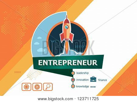 Entrepreneur Design Concepts For Business Analysis, Planning, Consulting, Team Work