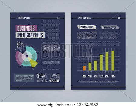 Brochure template. Creative brochure template. Business template of brochure or flyer. Annual report template. Flyer template. Brochure layout. Colorful brochure design template. Brochure cover design template. Layout of brochure design. Brochure design.