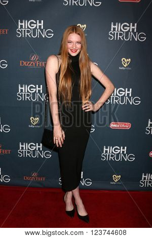 LOS ANGELES - MAR 29:  Larsen Thompson at the High Strung Premeire at the TCL Chinese 6 Theaters on March 29, 2016 in Los Angeles, CA