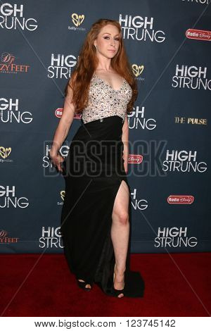 LOS ANGELES - MAR 29:  Corinne Holt at the High Strung Premeire at the TCL Chinese 6 Theaters on March 29, 2016 in Los Angeles, CA
