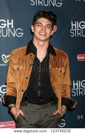 LOS ANGELES - MAR 29:  Ian Eastwood at the High Strung Premeire at the TCL Chinese 6 Theaters on March 29, 2016 in Los Angeles, CA